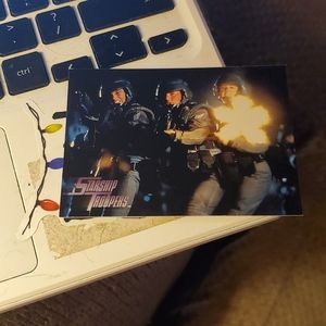 Here they come starship troopers card